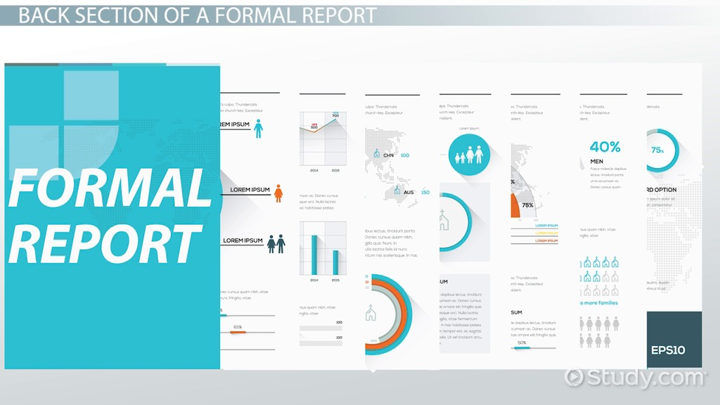 writing a formal report