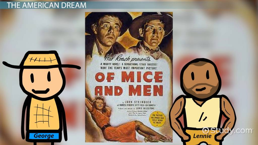 Of mice and men summary and analysis of steinbecks style video the american dream in of mice and men fandeluxe Gallery