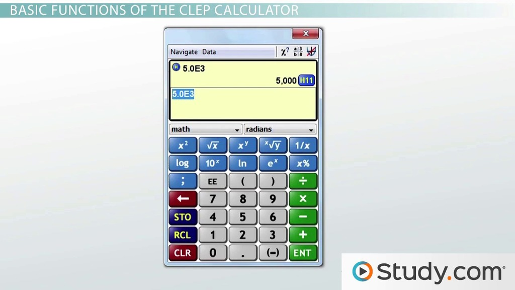 Using a Scientific Calculator for Calculus - Videos & Lessons ...