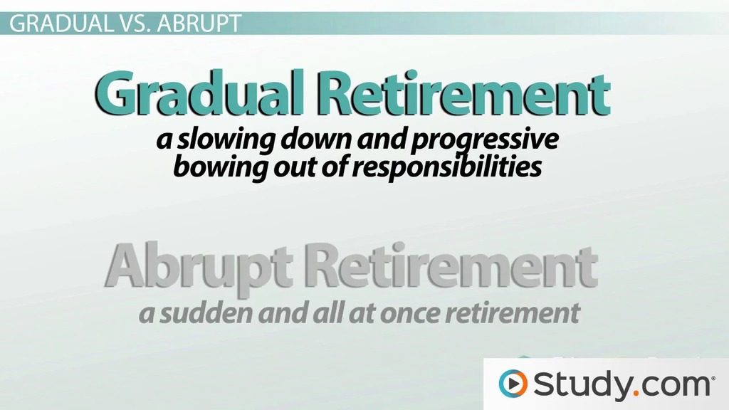 The Stages of Retirement: Psychological Effects & Examples