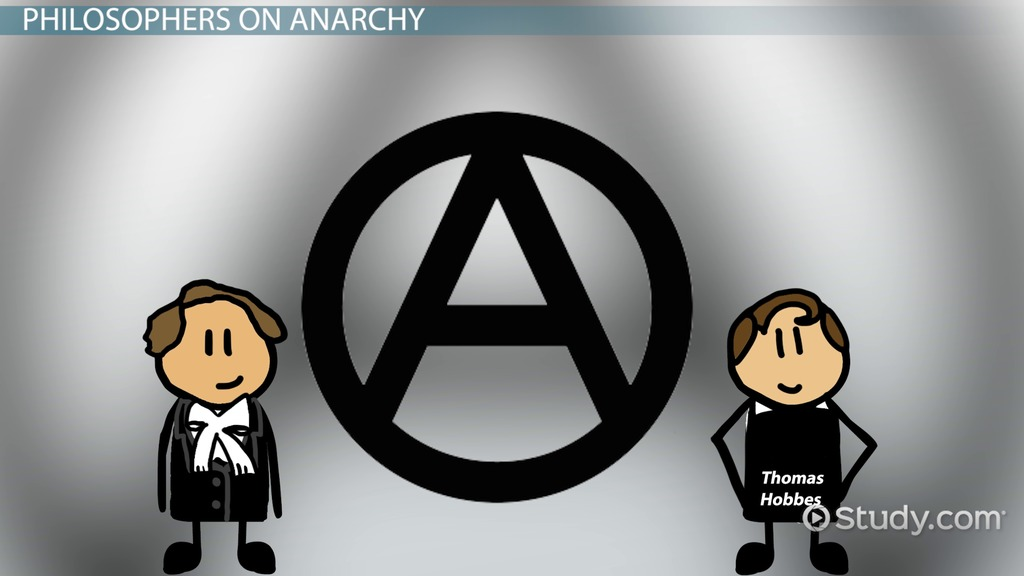 what is anarchy  - definition  u0026 examples