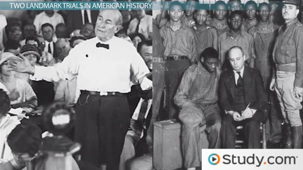 the scopes trial and scottsboro trials summaries significance  the scopes trial and scottsboro trials summaries significance video lesson transcript com