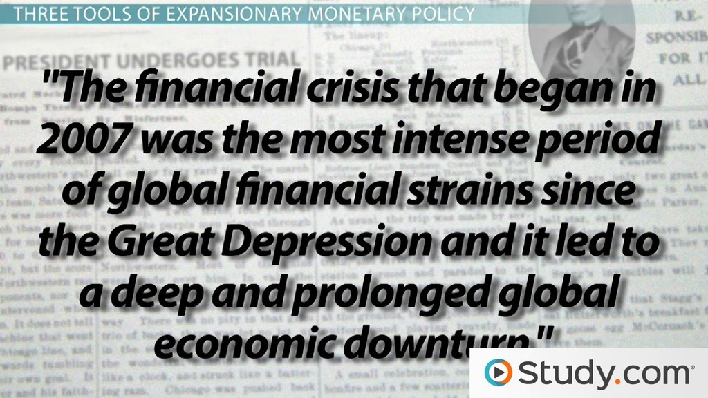 Expansionary Monetary Policy: Helping The Economy Grow