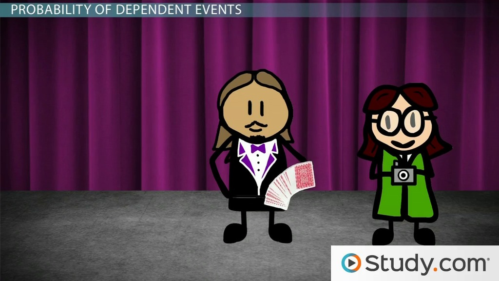 Probability Of Independent And Dependent Events Video Lesson