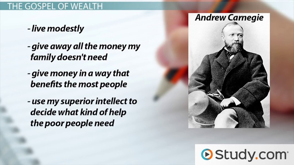 Negative aspects of robber baron andrew carnegie