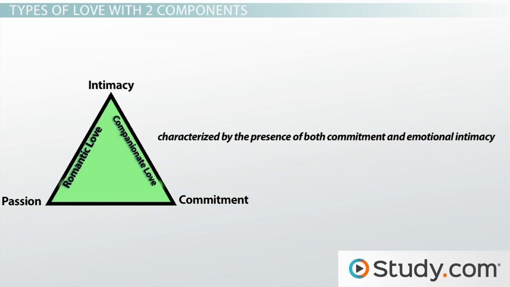 Sternbergu0027s Triangular Theory Of Love: Definition, Examples U0026 Predictions    Video U0026 Lesson Transcript | Study.com