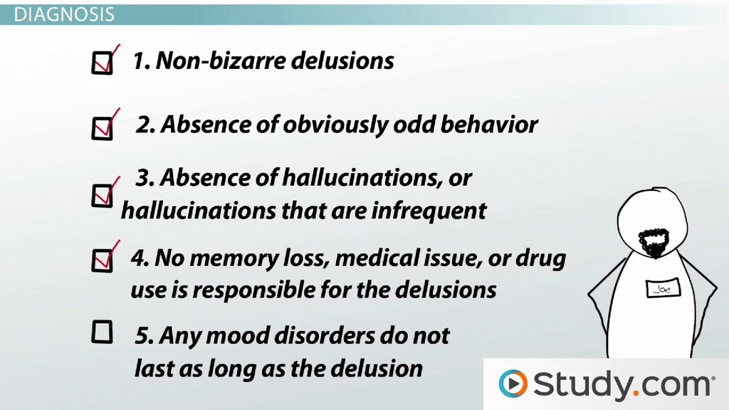 delusional mental health disorders  definition and characteristics
