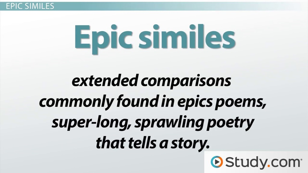Similes In Literature Definition And Examples Video Lesson