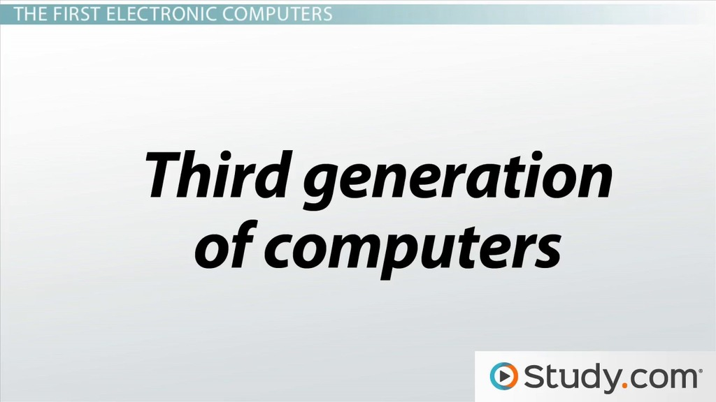 history of computers timeline evolution video lesson  history of computers timeline evolution video lesson transcript com