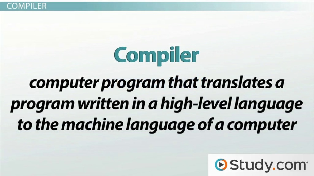 Machine code and high level languages using interpreters and machine code and high level languages using interpreters and compilers video lesson transcript study fandeluxe Image collections