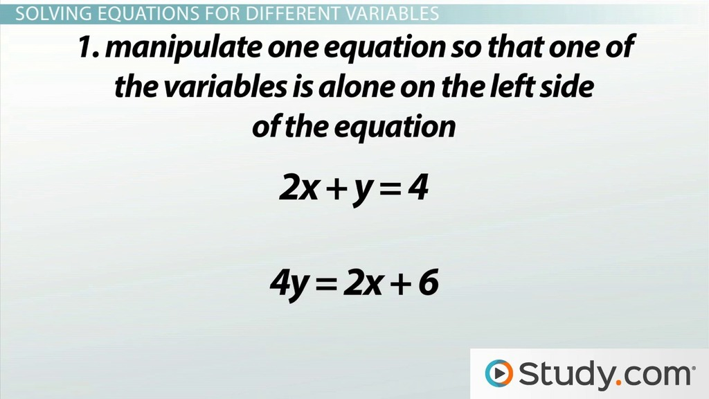 Manipulating Functions And Solving Equations For Different Variables. Manipulating Functions And Solving Equations For Different Variables Video Lesson Transcript Study. Worksheet. Hands On Equations Worksheet At Clickcart.co