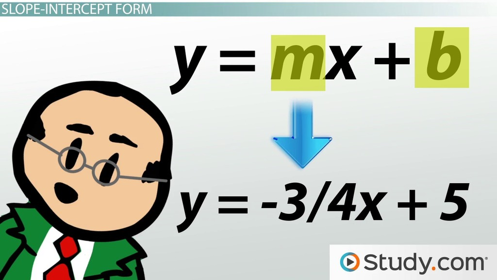 What Is Slope Definition Formulas Video Lesson Transcript