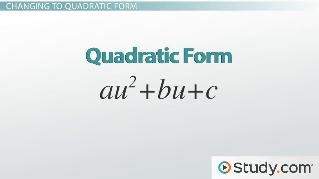 Put option form quadratic equation