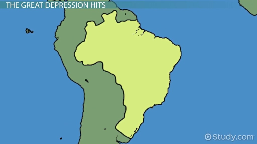 impact of the great depression on latin america video lesson  impact of the great depression on latin america video lesson transcript com