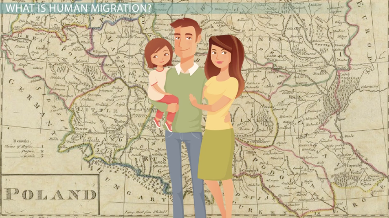 the push  u0026 pull factors of human migration