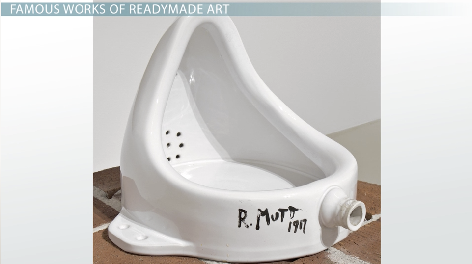 the significance  u0026 famous works of readymade art
