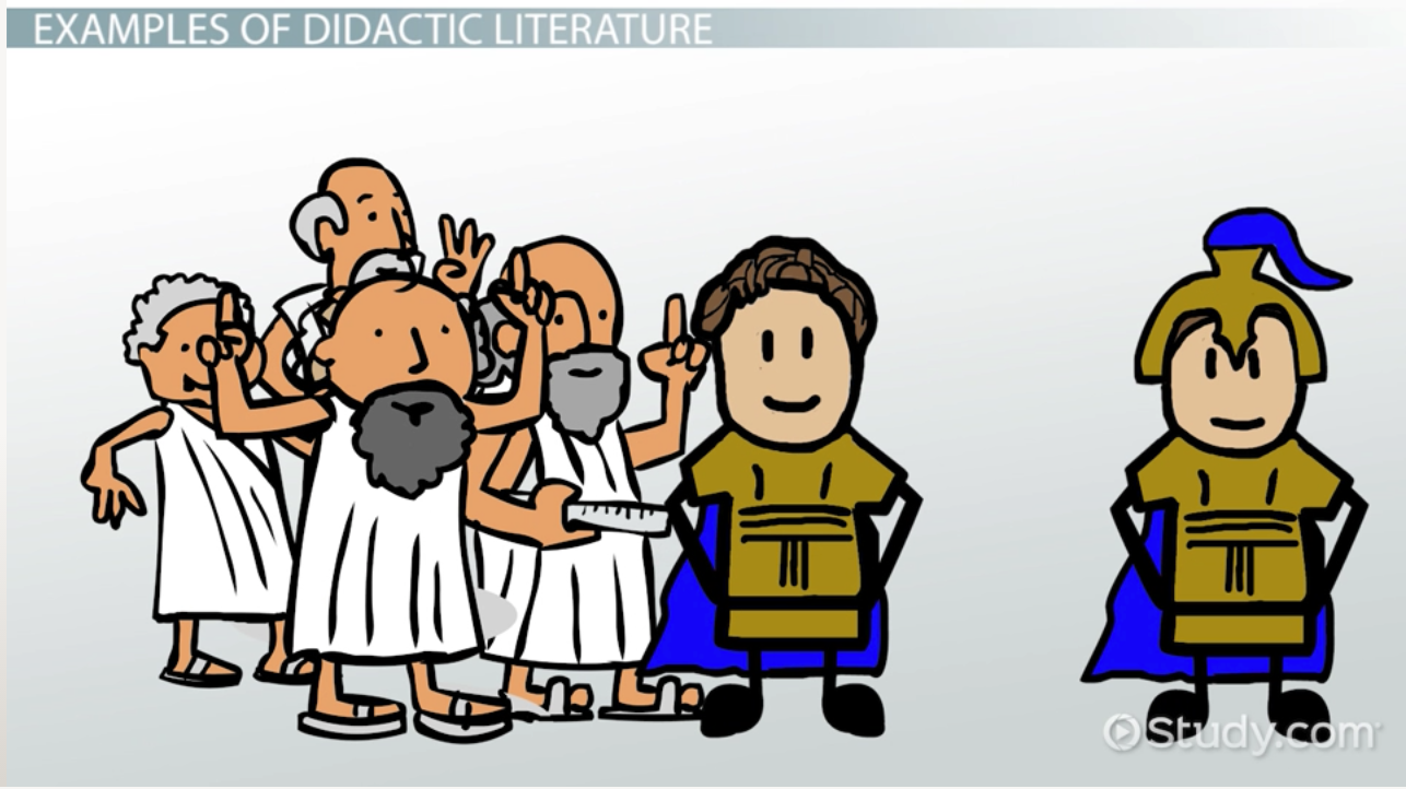 Didactic Literature Definition Amp Examples Video