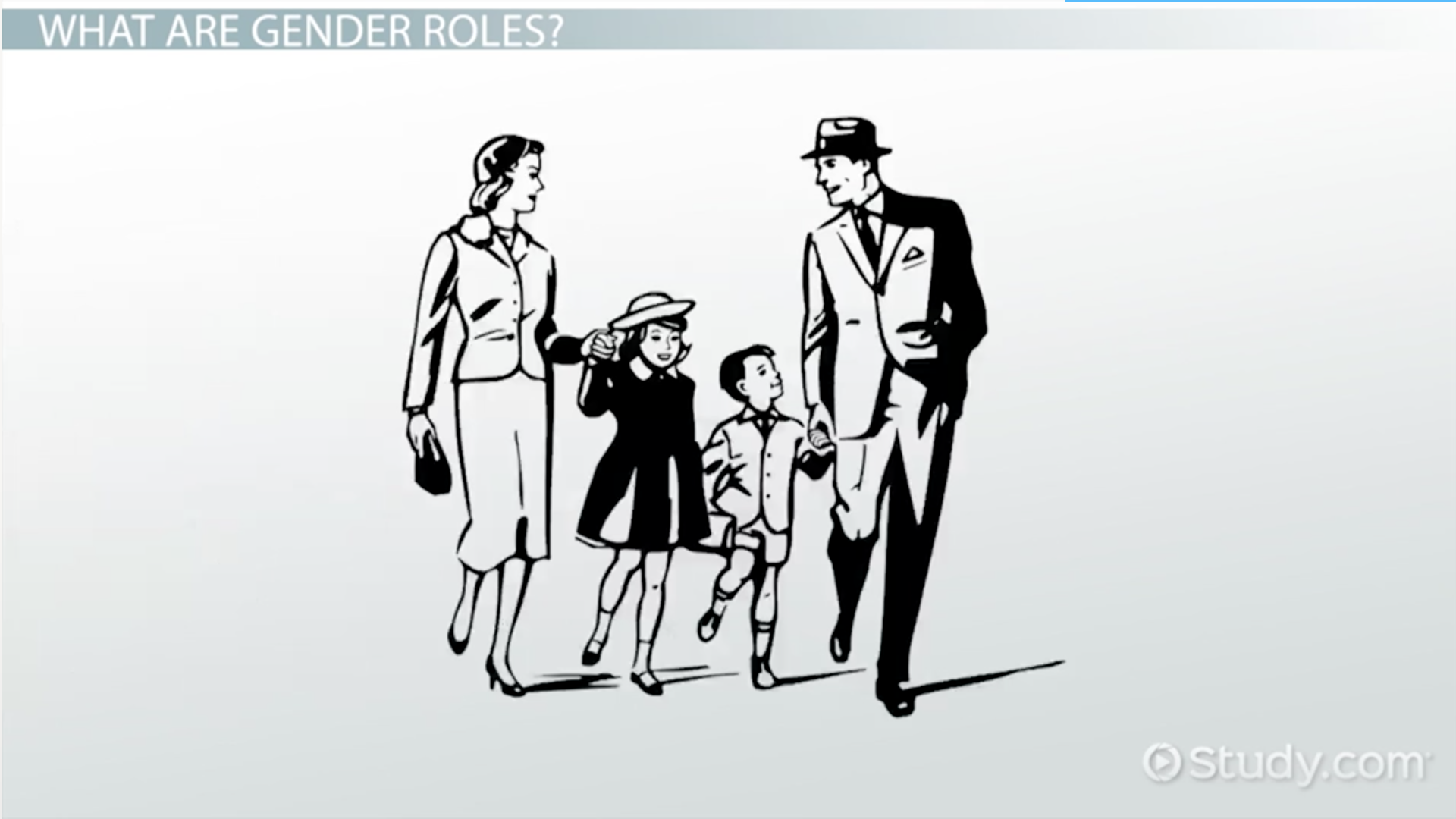 an analysis of gender roles for men in the american society Gender roles in society: reinforced gender roles for american men and women in the 1950s gender roles in 1950s america related study materials.