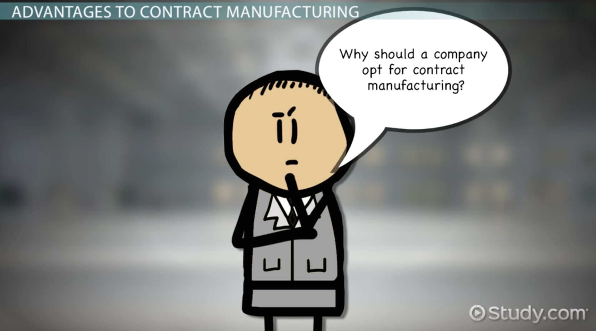what is contract manufacturing