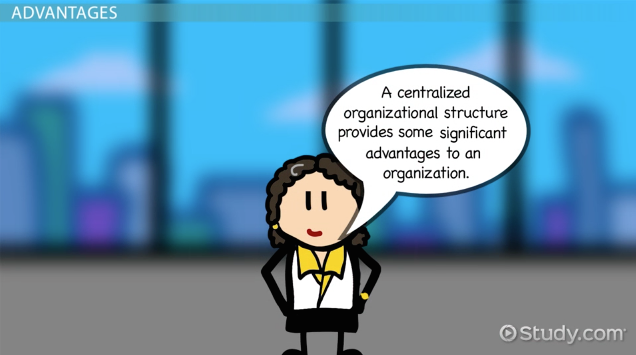 organizational structure definition and influence on centralized organization definition explanation