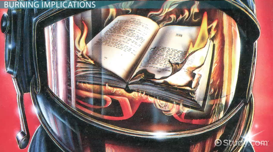 an analysis of why man outlaws books in fahrenheit 451 by ray bradbury In the uk, possession of the anarchist's  possession of the anarchist's cookbook is terrorism   .