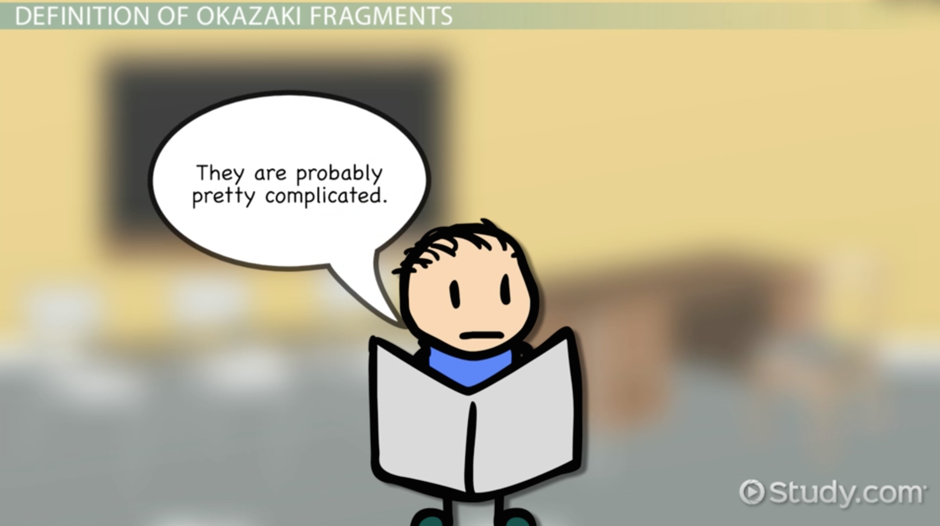 okazaki fragments  definition  u0026 overview