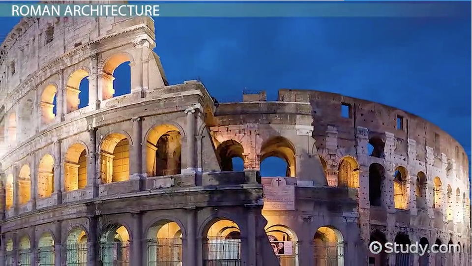 Ancient Roman Architecture Facts Style Characteristics Video