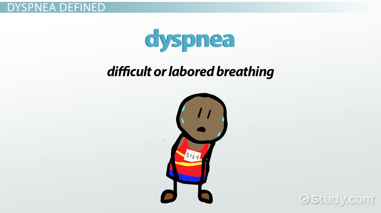 What Is Dyspnea Definition Causes Treatment Video Lesson