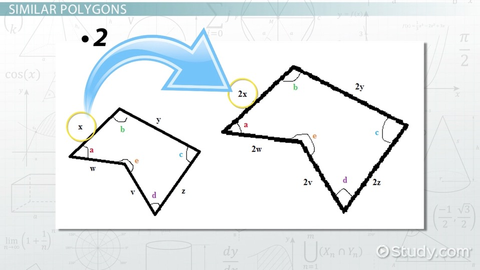 Similar Polygons Practice Problems Video Lesson Transcript – Similar Polygons Worksheet