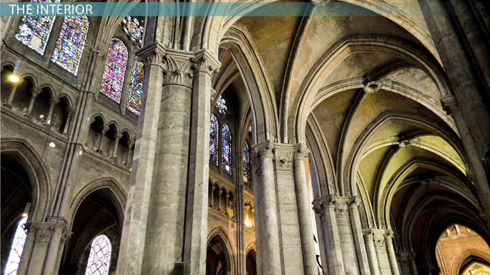 The Development Of Gothic Style Cathedral Chartres