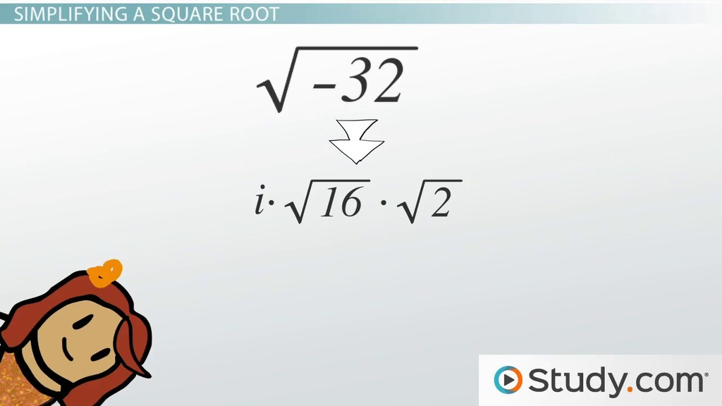 how to solve complex square roots