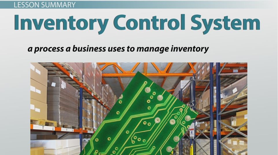research paper on inventory control