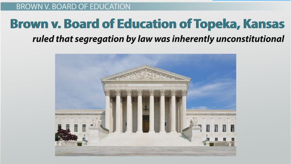 Brown V Board Of Education Essay