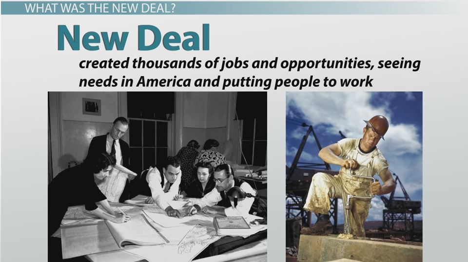 an analysis of the new deal Us history block d: summary & analysis of the new deal's.