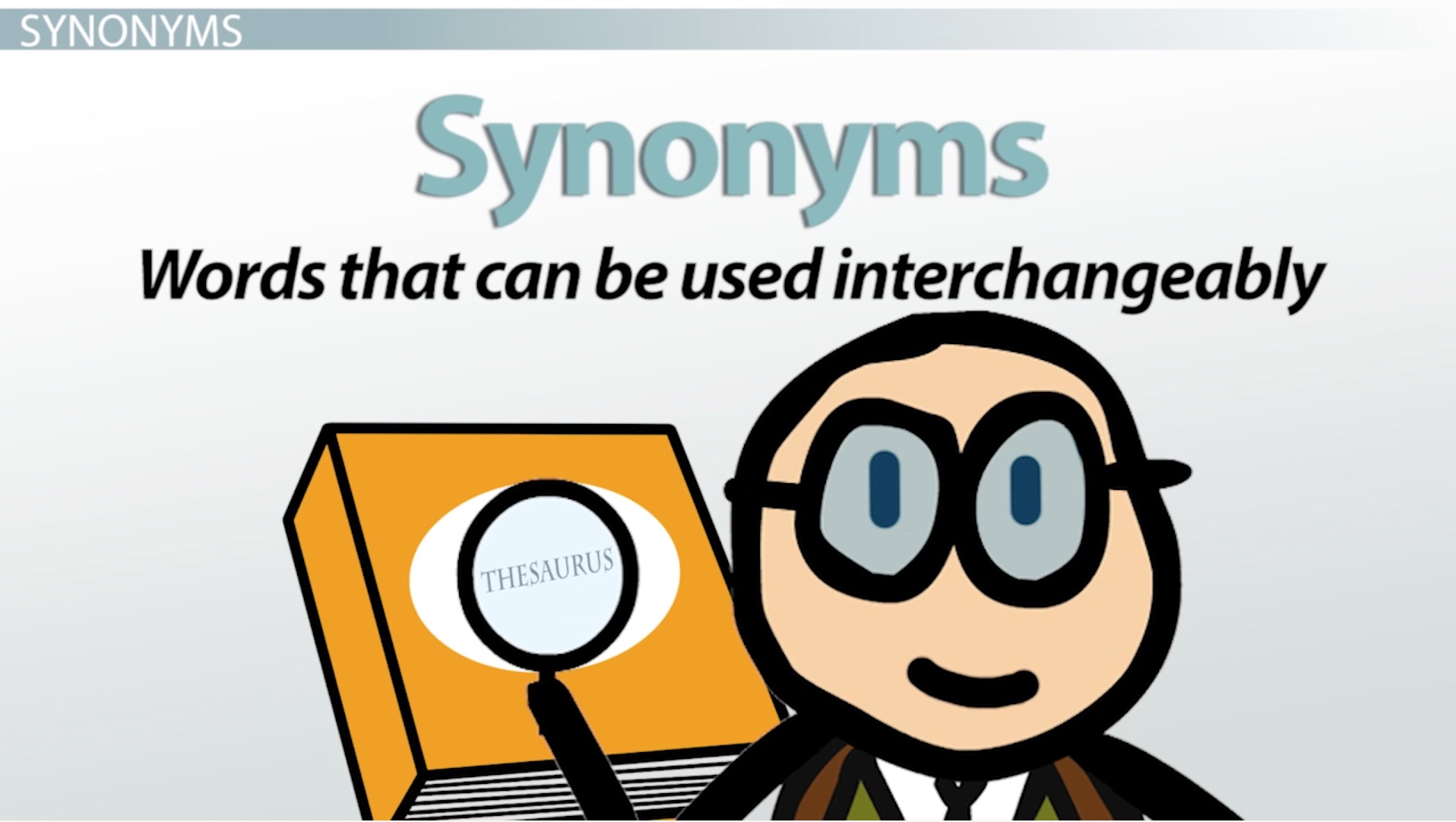 what are synonyms antonyms definition examples video