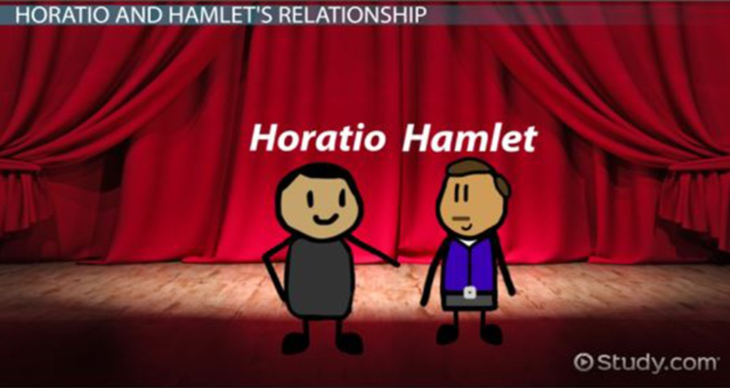 horatio character analysis from the play hamlet Hamlet - the prince of denmark, the title character, and the protagonist about thirty years old at the start of the play, hamlet is the son of queen gertrude and the late king hamlet, and the nephew of the present king, claudius.