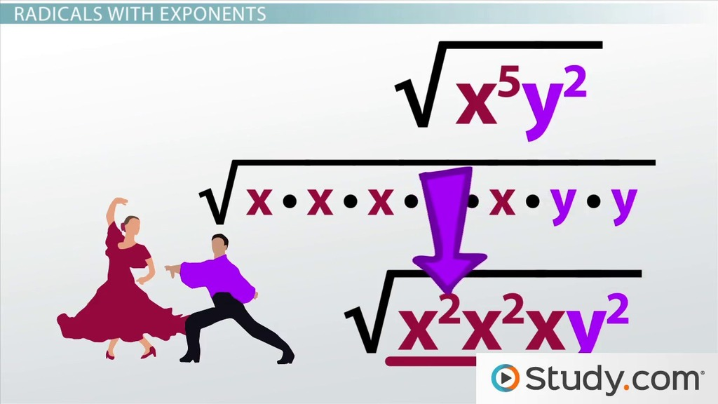 Simplifying Square Roots Of Powers In Radical Expressions Video. Simplifying Square Roots Of Powers In Radical Expressions Video Lesson Transcript Study. Worksheet. 10 4 Worksheet Solving Quadratic Equations By Using Square Roots At Clickcart.co