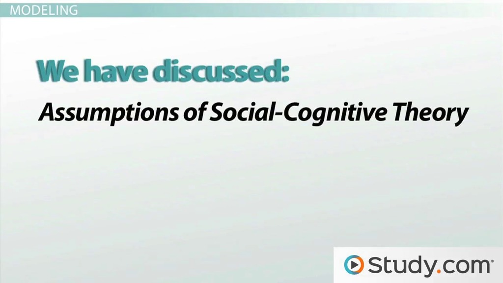 social cognitive theories The handbook of theories of social psychology is an essential resource for researchers and students of social psychology and related disciplines.