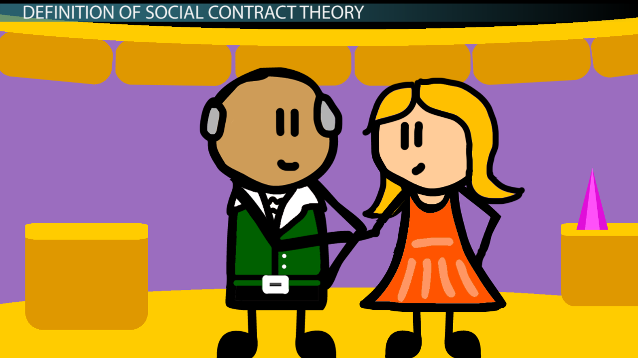 a description of social contract theory The social contract theories of thomas hobbes and john locke  the classic form of social contract theory suggests that there is a stateless society from which.