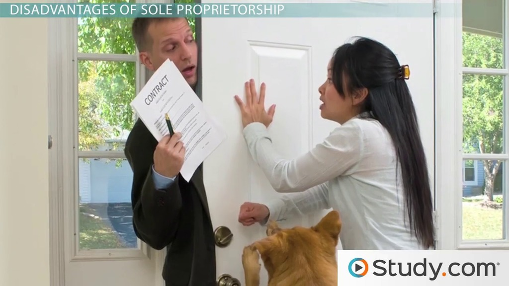 What is a Sole Proprietorship? - Definition, Advantages ...