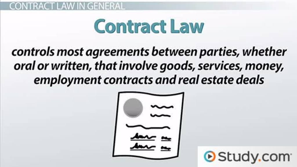 Sources Of Contract Law: Common Law & Uniform Commercial Code