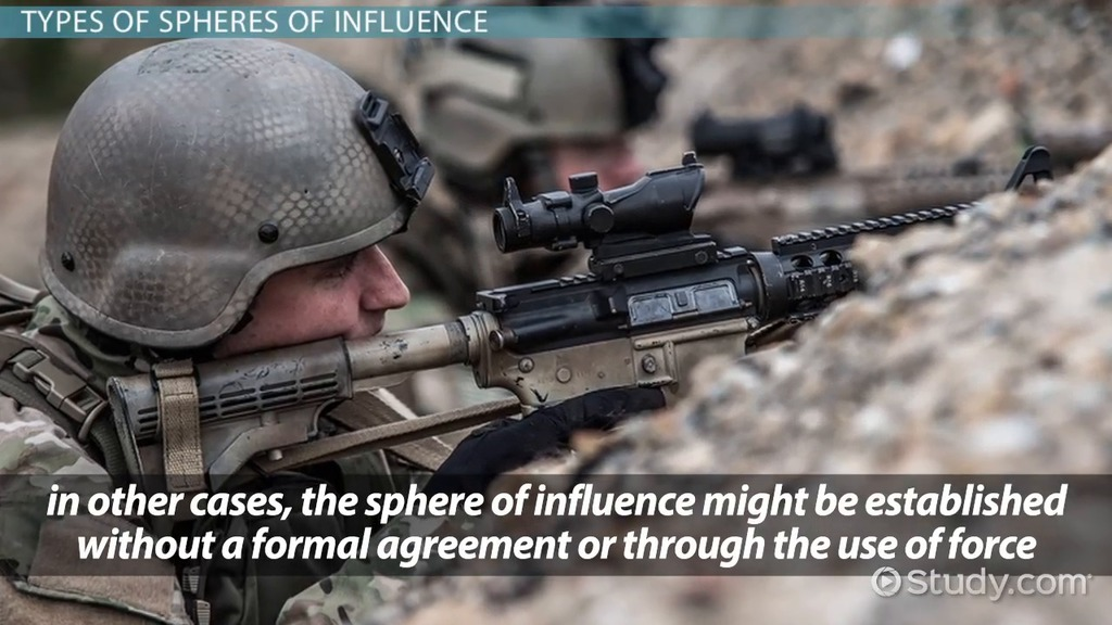 sphere of influence  definition  u0026 significance