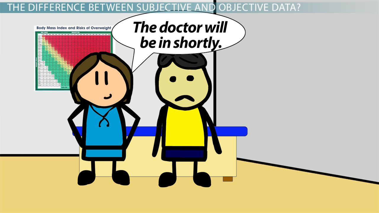 Subjective Data In Nursing Definition And Examples Video Lesson