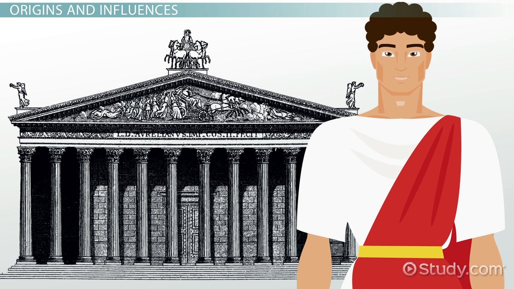 The Roman Temple Architecture Parts Amp Facts