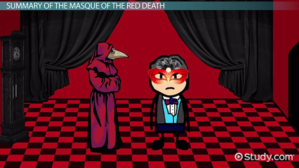 an analysis of symbolism in the masque of the red death by edgar allan poe The author, edgar allan poe, using illusion or misdirection keeps the reader is suspense throughout this story called the masque of the red death.