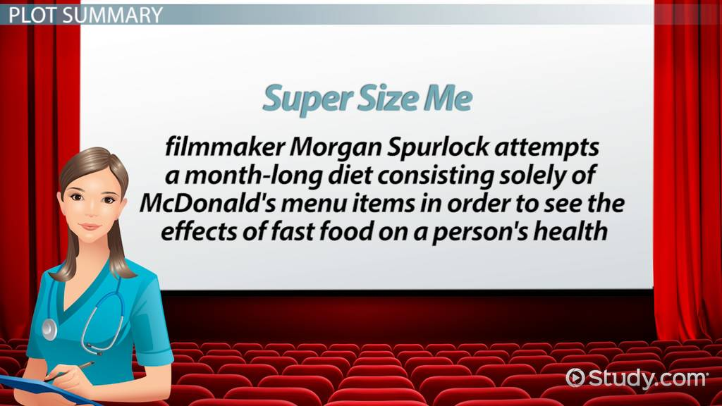 Super Size Me Movie Facts Summary Video Lesson Transcript – Supersize Me Worksheet Answers