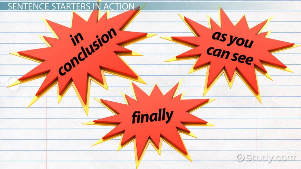 writing a conclusion for a narrative essay video lesson  conclusion paragraph starters