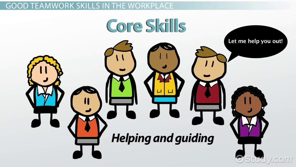 teamwork skills in the workplace definition examples video lesson transcript studycom