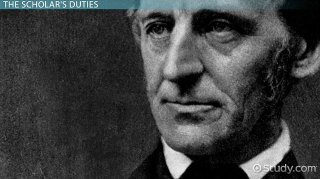 emerson american scholar essays History other essays: the american scholar search browse essays  join now login support  after reading the text, the american scholar, by emerson,.