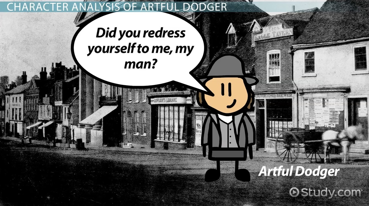 oliver twist plot and characters in dickens social novel video the artful dodger from oliver twist character analysis overview